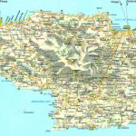 Large Crete Maps For Free Download And Print | High Resolution And Throughout Printable Map Of Crete
