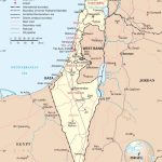 Large Detailed Map Of Israel Regarding Free Printable Map Of Israel