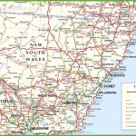 Large Detailed Map Of New South Wales With Cities And Towns Pertaining To Printable Map Of Nsw