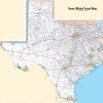 Large Detailed Map Of Texas With Cities And Towns For Printable Map Of Texas