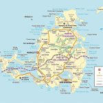 Large Detailed Road Map Of Saint Martin Island. St. Maarten Island Inside Printable Road Map Of St Maarten