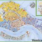Large Detailed Tourist Map Of Venice Ideal Street Map Of Venice In Venice Street Map Printable