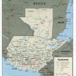 Large Guatemala City Maps For Free Download And Print | High With Regard To Printable Map Of Guatemala