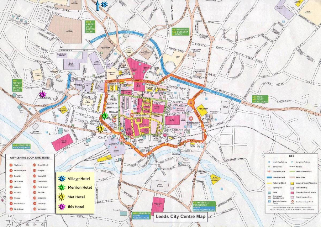 Large Leeds Maps For Free Download And Print | High-Resolution And with Bristol City Centre Map Printable