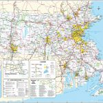 Large Massachusetts Maps For Free Download And Print | High With Printable Map Of New England States