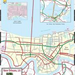 Large New Orleans Maps For Free Download And Print | High Resolution In Printable Map Of New Orleans