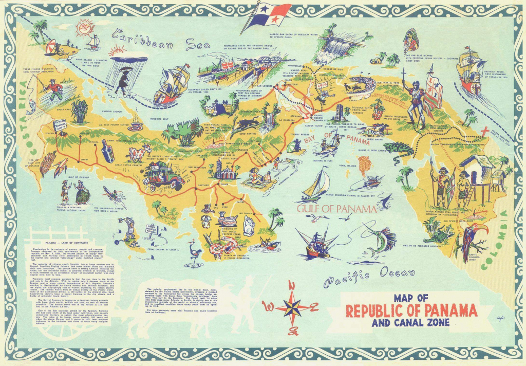 Large Panama City Maps For Free Download And Print   High-Resolution for Printable Map Of Panama