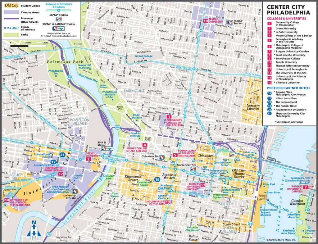 Large Philadelphia Maps For Free Download And Print | High pertaining to Printable Map Of Philadelphia