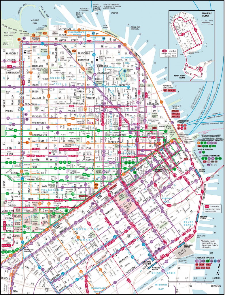 Large San Francisco Maps For Free Download And Print | High for Printable Map Of San Francisco