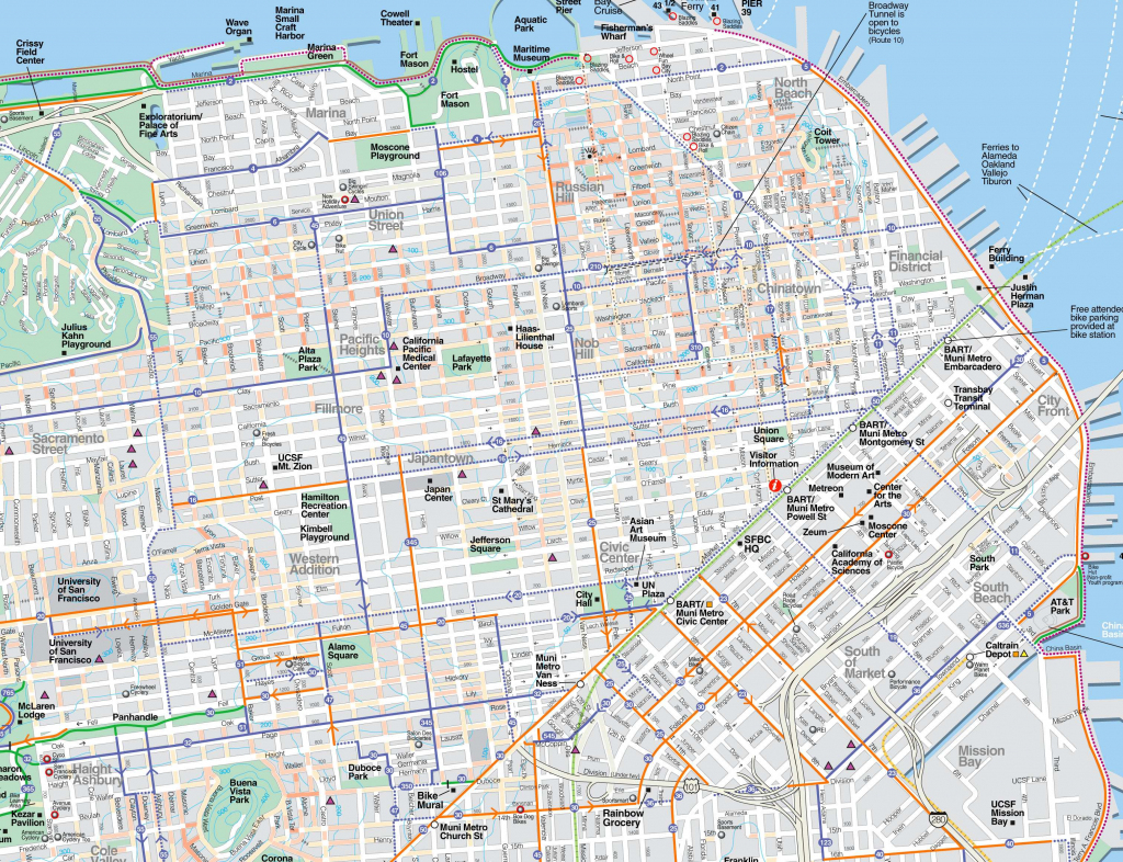 Large San Francisco Maps For Free Download And Print   High with regard to San Francisco Tourist Map Printable
