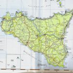 Large Sicily Maps For Free Download And Print | High Resolution And Within Printable Map Of Sicily