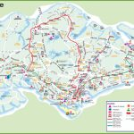 Large Transport Map Of Singapore Within Printable Map Of Singapore