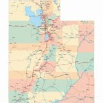 Large Utah Maps For Free Download And Print | High Resolution And With Utah State Map Printable