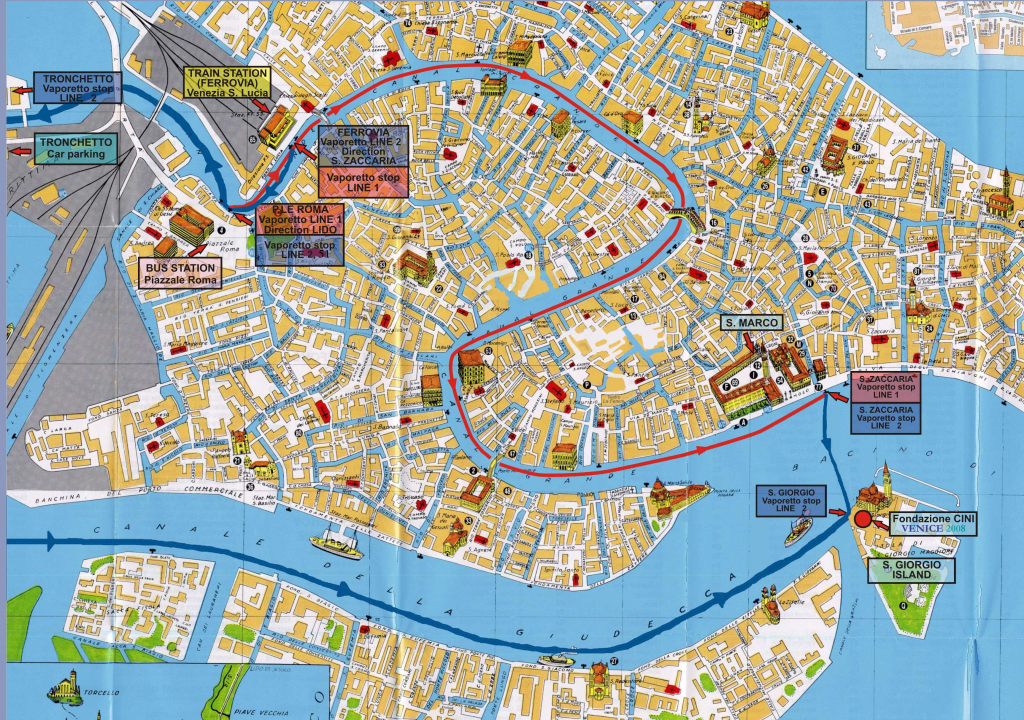Large Venice Maps For Free Download And Print | High-Resolution And throughout Printable Tourist Map Of Venice Italy