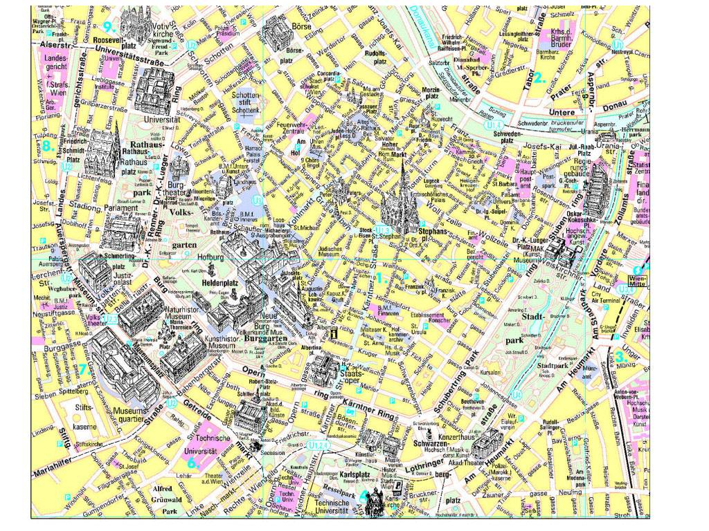 Large Vienna Maps For Free Download And Print | High-Resolution And throughout Printable Map Of Vienna