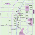 Las Vegas Map, Official Site   Las Vegas Strip Map Regarding Las Vegas Strip Map 2016 Printable