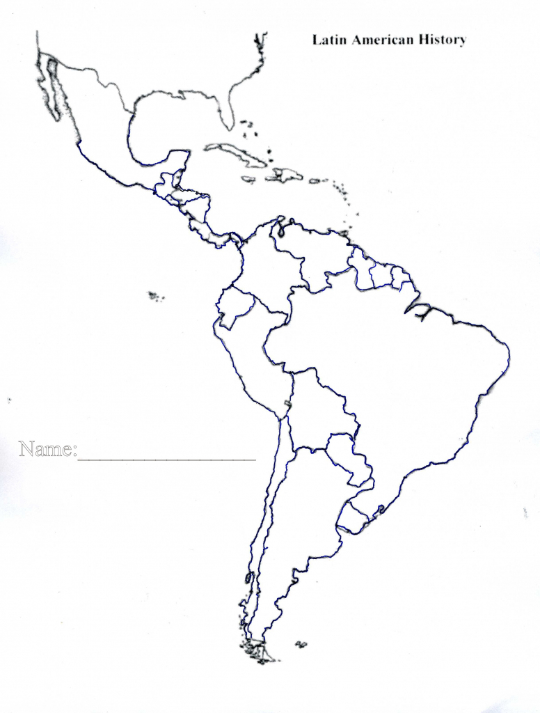 Latin America Map Blank Save Btsa Co Within Of North And South With for Printable Blank Map Of South America
