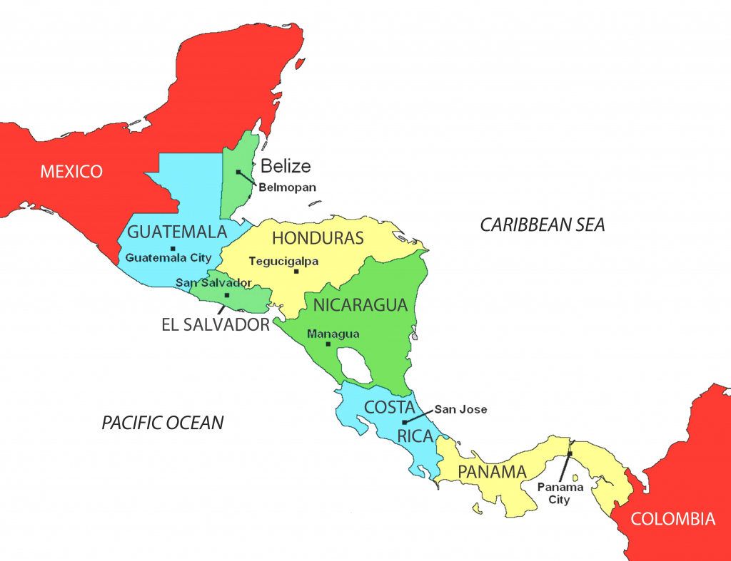 Latin America Map Printable Spanish Speaking Countries And Their inside Printable Map Of Spanish Speaking Countries