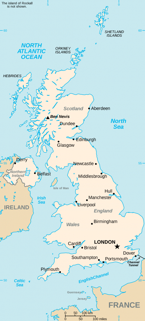 List Of United Kingdom Locations - Wikipedia inside Printable Map Of Uk Cities And Counties