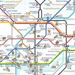 London Attraction Map With Tube – Uk Map With London Tourist Map Printable
