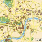 London Attractions Map Pdf   Free Printable Tourist Map London In London Tourist Map Printable