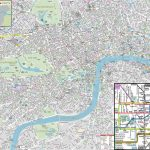 London Maps   Top Tourist Attractions   Free, Printable City Street With Regard To Printable Street Map Of Central London