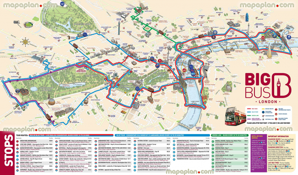London Maps - Top Tourist Attractions - Free, Printable City Street within Map Of London Attractions Printable