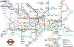 Printable London Tube Map
