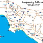 Los Angeles Freeway Map   City Sightseeing Tours With Regard To Los Angeles Freeway Map Printable