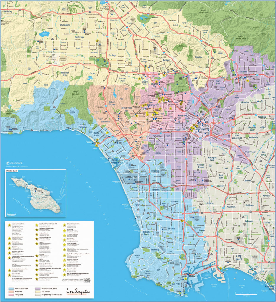 Los Angeles Maps | California, U.s. | Maps Of L.a. (Los Angeles) with regard to Printable Map Of Los Angeles County