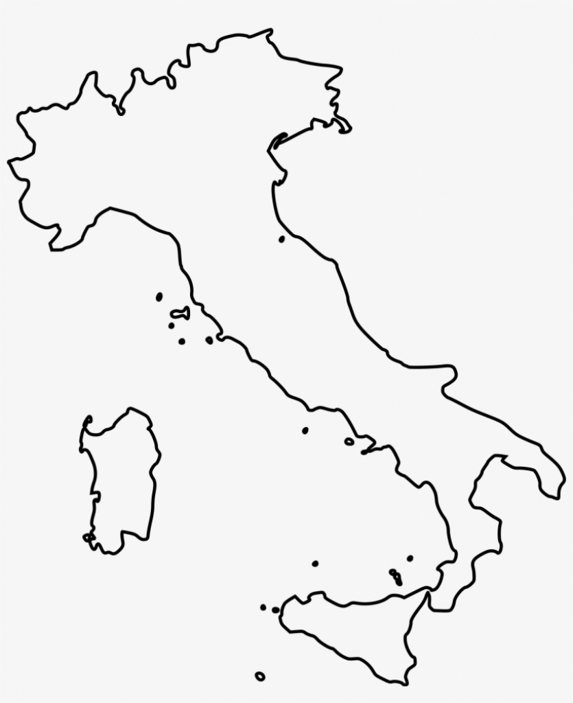 Map Coloring Pages Fresh Outline Map Italy Printable - Italy Map in Printable Blank Map Of Italy