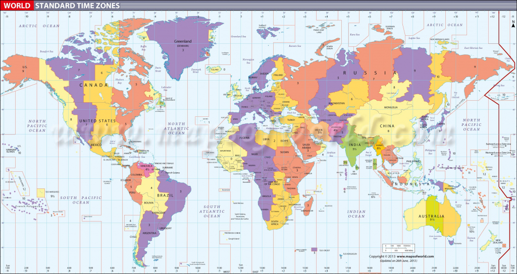 Map In Large Print Of The World Inpinks | Free Printable World Time throughout World Time Zone Map Printable Free
