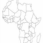 Map Of Africa Template | Silhouettes | Africa Map, Africa Outline Inside Free Printable Map Of Africa