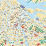Map Of Amsterdam Tourist Attractions, Sightseeing & Tourist Tour Throughout Amsterdam Street Map Printable
