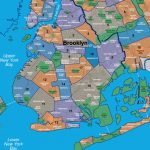 Map Of Brooklyn Neighborhoods With Printable Map Of Brooklyn
