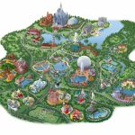 """Map Of Disney World Hotels And Theme Parks Disney Springsâ""""¢ Area With Printable Maps Of Disney World Parks"""