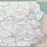 Map Of Eastern Pennsylvania Within Printable Road Map Of Pennsylvania