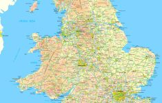 Map Of England And Wales regarding Printable Map Of England With Towns And Cities