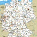 Map Of Germany Printable And Travel Information | Download Free Map With Free Printable Map Of Germany