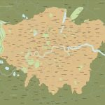 Map Of Greater London Districts And Boroughs   Maproom Pertaining To Printable Map Of London Boroughs