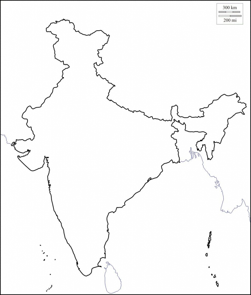 Map Of India Outline | Map Of India With States In 2019 | India Map pertaining to Printable Outline Map Of India