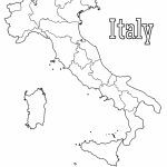Map Of Italy | Print. Color. Fun! Free Printables, Coloring Pages Inside Printable Map Of Italy For Kids
