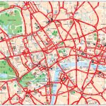 Map Of London Tourist Attractions, Sightseeing & Tourist Tour Pertaining To London Sightseeing Map Printable