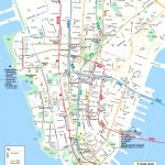 Map Of Manhattan Nyc And Travel Information | Download Free Map Of Regarding Printable Walking Map Of Midtown Manhattan