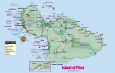 Maui Road Map Printable