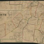 Map Of Monmouth County, New Jersey : From Actual Surveys | Library Regarding Printable Map Of Monmouth County Nj
