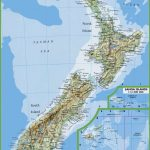 Map Of New Zealand With Cities And Towns With Regard To Printable Map Of New Zealand