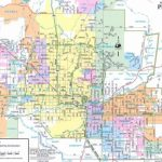 Map Of Phoenix And Surrounding Area   Map Of Phoenix Arizona And Throughout Phoenix Area Map Printable