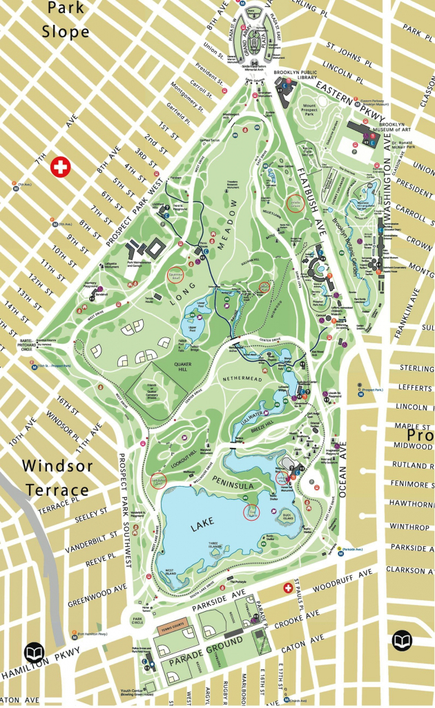 Map Of Prospect Park Brooklyn Ny | Interface Look And Feel within Prospect Park Map Printable