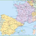 Map Of Spain And France Intended For Printable Map Of Spain